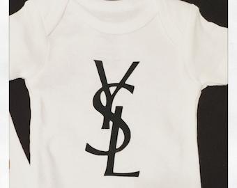 YSL inspired onesie
