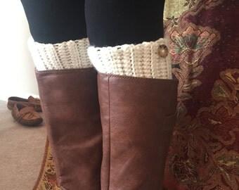 boot cuffs-crochet boot cuffs- boot socks