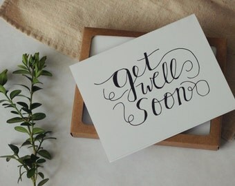 Get Well Soon Card Set