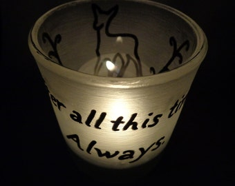 After all this time? Always. Lily Snape Doe Patronus Inspired Harry Potter Candle Jar