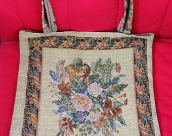 Vintage Tapestry Bag
