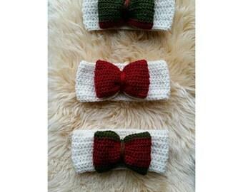 Set of 3 Christmas Earwarmers