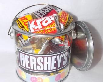 American Hershey miniatures Easter gift pot