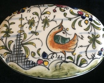 Hand-painted, Signed, Trinket Box (Portugal)