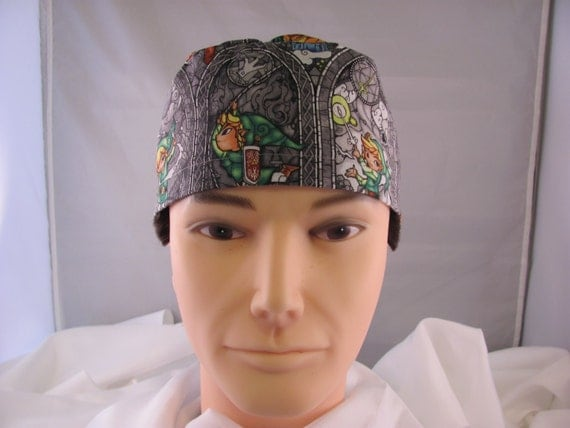 Men's Scrub Hat Link Legend of Zelda