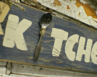Kitchen Barn Wood Sign Barn Wood Decor