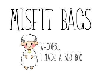 Misfit Bags (5 sheets) - Please no coupon codes used on this item!