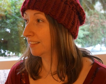 Slouchy Knit Hat - Available in 6 Colors