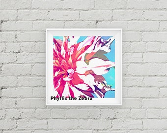 flower/8x8 watercolor print/Printable/art wall decor/download/