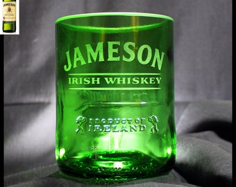 Jameson Whiskey Rocks Glass, Birthday Gift, Husband Gift, Boyfriend Gift, Gift for Men, Irish Whiskey Glass, Guy Gift, Father's Day Gift