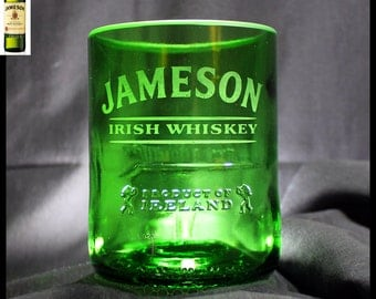 Jameson Irish Whiskey Rocks Glass, Personalized Husband Gift, Birthday Gift, Boyfriend Gift, Father Gift, Valentine's Gift, Whiskey Glass