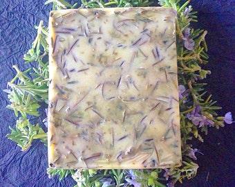 Rosemary Soap: Goat Milk Soap, Glycerin Soap, Rosemary Soaps, Rosemary Soap Bar, Rosemary Bar Soap, Essential Oil Soap, Herbal Rosemary Soap