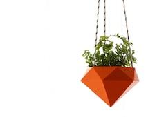 Hanging planter Diamond 3D printed Ruby