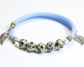 Bracelet Jasper Dalmatian