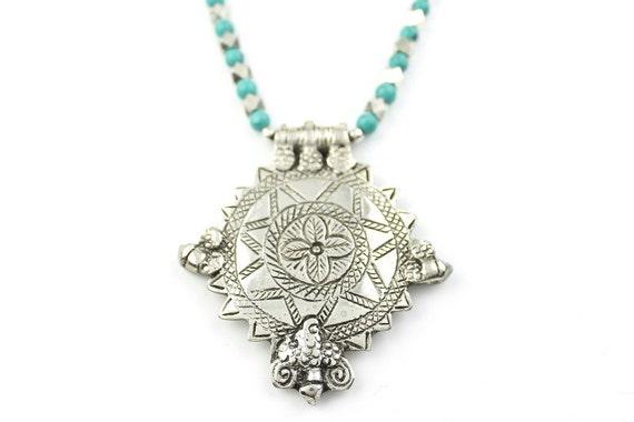 Ice Princess Necklace, Boho Jewelry, Statement Necklace, Layering Necklace, Festival Jewelry, Tribal, Ethnic Necklace, Tassel Jewelry, BOHO,