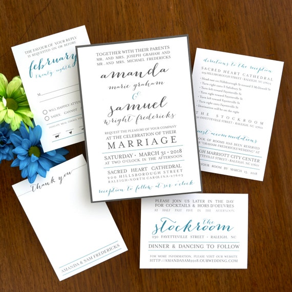 Posh paper wedding