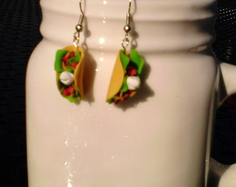 Taco Tuesday dangle earrings