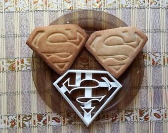 Superman Cookie Cutter SuperHero Cookie Cutter