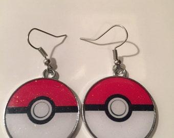 Pokemon Go Earrings Inspired