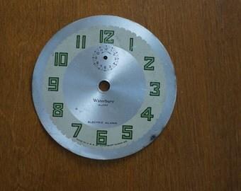 Vintage Waterbury Clock Face