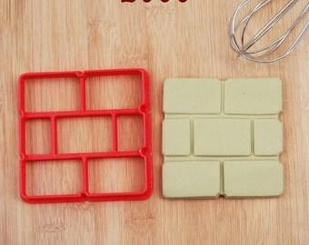 Brick Block Cookie Cutter 2777