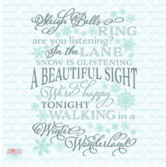 walking in a winter wonderland free sheet music pdf