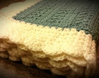 Crochet Blanket Baby, Crochet Blanket, Crochet Baby Blanket, Blue Crochet Baby Blanket, Baby Afghan, Blue Baby Blanket, Stroller Blanket