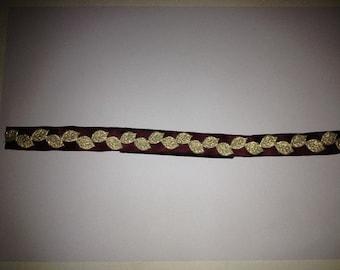 Medieval headband leaves