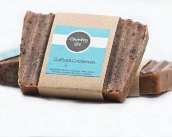 Coffee & Cinnamon Soap