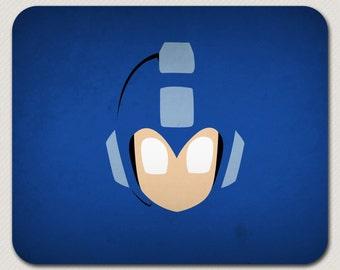 Megaman Blue Nintendo Mousepad