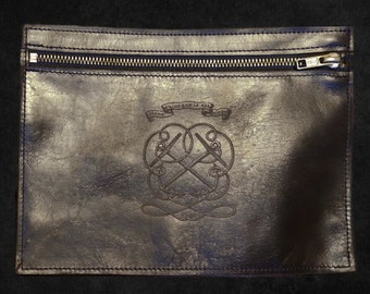 Calfskin Leather Pouch