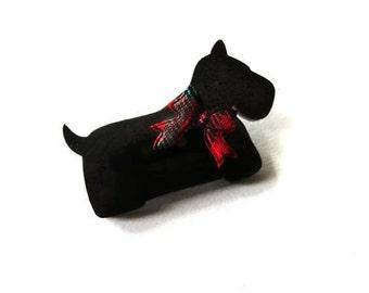 Scottie Dog Brooch