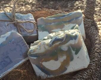 Natural Goat Milk Soap moisturizing   Handmade Goat Milk Soap with exfoliating Collodial Oatmeal