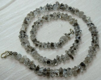 1 Strand High Quality Herkimer Diamond ,Quartz Double Terminated, Crystal ,Size=== 10x6x6mm