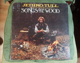 vintage vinyl record Jethro Tull Songs from the woods