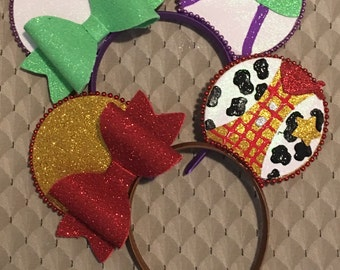 Buzz lightyear and woody mouse ear pair / Disney ears / Mickey ears / toy story