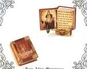 VAMPIRE Dollhouse Miniature Book – 1:12 READABLE Vampire Miniature Book Vampire Book – True Blood Halloween Miniatures Printable DOWNLOAD