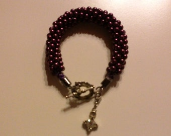 Bracelet with pearls