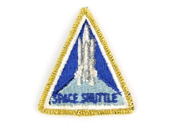 Space Shuttle Vintage Patch