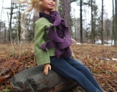 Handmade Barbie Clothes, Casual Outfit