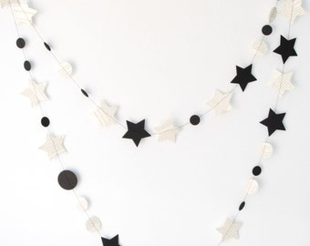 Book and Stars Garland