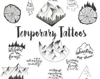 Temporary Tattoo-Pack One
