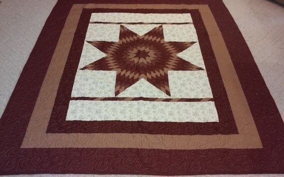 Quilt Pattern Radiant Star : Radiant Star quilt queen size