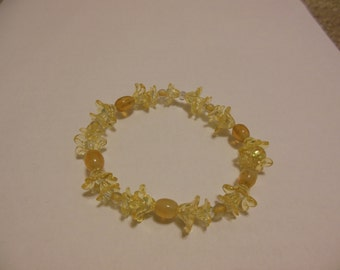 Sunflower  Elastic Stretch Bracelet