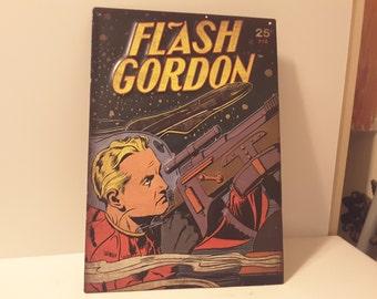 Flash Gordon! Tin sign