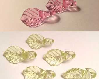 color changing leaf beads