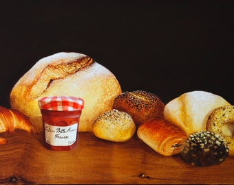 Still Life of a French Breakfast