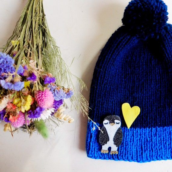 Baby Penguin pin - Handmade - tender Cactus - la Rochelle