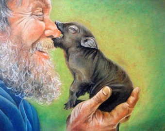 Robbin Williams and Piglet