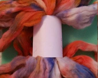 4 ounces 70/20/10% Merino/German Angora/Bombyxx Silk Fiber